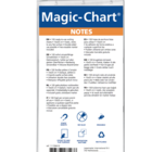 Legamaster Magic-Chart notes 10x20cm blauw 100st  - 005