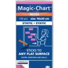 Legamaster Magic-Chart notes 10x20cm rose 100pcs  - 001