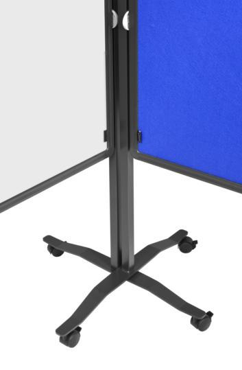Legamaster PREMIUM PLUS workshop board foldable 150x120cm white - 003