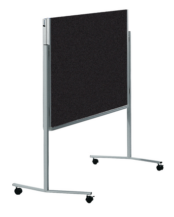 Legamaster PREMIUM tablero para workshop móvil plegable antracita - 001