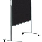 Legamaster PREMIUM mobiel inklapbaar workshopbord antraciet  - 001
