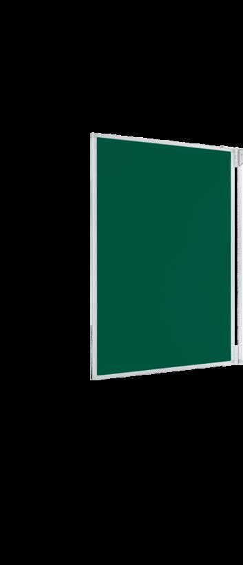Legamaster e-Board side panel for e-Board 77inch green - 001