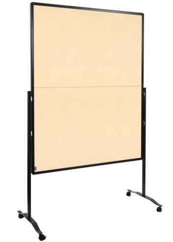 Legamaster PREMIUM PLUS workshop board foldable 150x120cm beige - 001