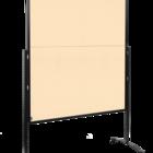 Legamaster PREMIUM PLUS workshop board foldable 150x120cm beige  - 001