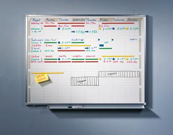 Legamaster PROFESSIONAL planning d'activités 90x120cm - 001