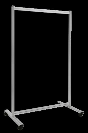 Legamaster ECONOMY divider board 180x120cm transparent - 001