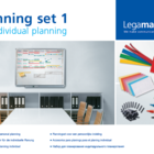 Legamaster planning set 1 for personal planning  - 001