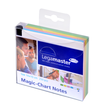 Legamaster Magic-Chart notes 10x10cm assorted 250pcs - 001