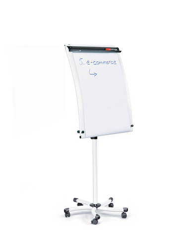 Legamaster WHITETEC mobiele flipover wit - 001