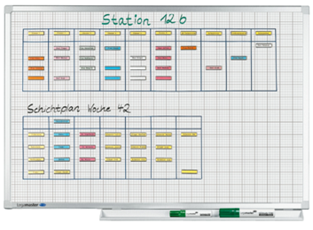 Legamaster PROFESSIONAL bedrukt whiteboard liniatuur 100x150cm - 001