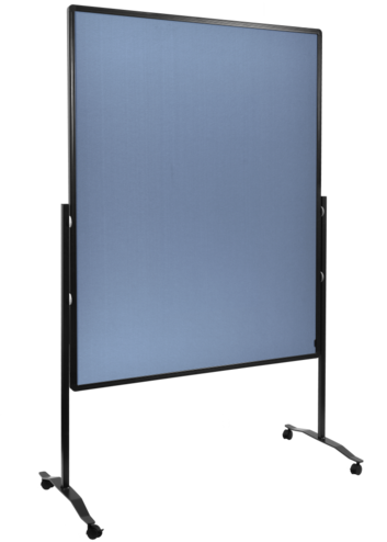 Legamaster PREMIUM PLUS Moderationswand 150x120cm blau-grau - 001