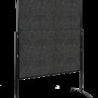 Legamaster PREMIUM PLUS workshop board foldable 150x120cm anthracite  - 001