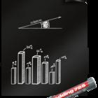 Legamaster Magic-Chart blackboard foil 60x80cm  - 001