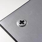 Legamaster tablero de vidrio 60x80cm negro  - 005