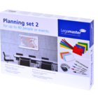 Legamaster planning set 2 for 40 people, events, projects  - 001