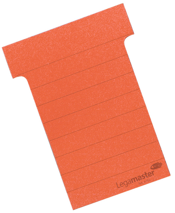 Legamaster planning module T-card 70mm red 100pcs - 001
