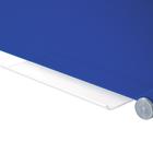 Legamaster tablero de vidrio 90x120cm azul  - 003