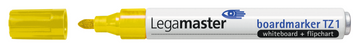 Legamaster TZ1 board marker geel - 001
