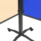 Legamaster PREMIUM PLUS workshop board foldable 150x120cm beige  - 003