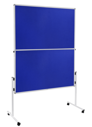 Legamaster ECONOMY foldable workshop board blue - 001