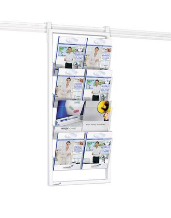 Legamaster LEGALINE PROFESSIONAL brochure rack 115x50cm - 001