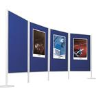 Legamaster LEGALINE feltboard blue 90x120cm floor system  - 001