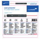 Legamaster laser presenter black  - 004