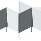 Legamaster LEGALINE PROFESSIONAL barra base para soporte de canal  - 002