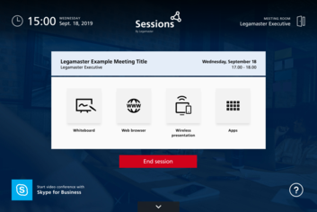 Legamaster Sessions software license lite - 003