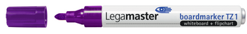 Legamaster TZ1 board marker paars - 001