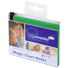 Legamaster Magic-Chart notes 10x10cm groen 100st  - 001