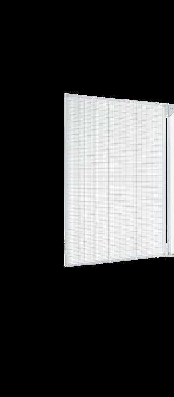 Legamaster e-Board side panel for e-Board 77inch grid - 001