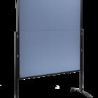 Legamaster PREMIUM PLUS workshop board foldable 150x120cm blue-grey  - 001