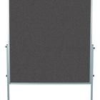 Legamaster PREMIUM mobiel workshopbord antraciet  - 001