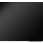 Legamaster tableau en verre 60x80cm noir  - 001