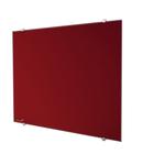 Legamaster tablero de vidrio 90x120cm rojo  - 004