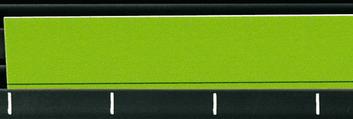 Legamaster channel planboard planning strip green 100pcs - 001