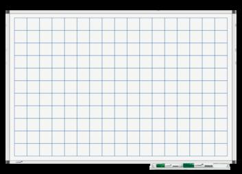 Legamaster PREMIUM bedrukt whiteboard liniatuur 60x90cm - 001