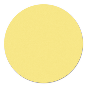 Legamaster workshopkaart cirkel 140mm geel 500st - 001