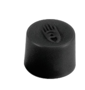 Legamaster aimant 10mm noir 10pc - 001
