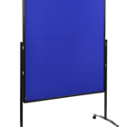 Legamaster PREMIUM PLUS workshop board foldable 150x120cm navy-blue  - 001