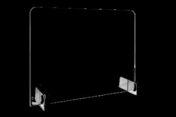 Legamaster BASIC desk divider 70x85cm transparent - 001