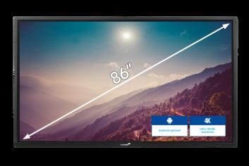 Legamaster ETX PLUS pantalla interactiva ETX-8620-PLUS - 001