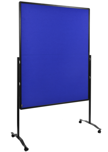 Legamaster PREMIUM PLUS workshop board foldable 150x120cm navy-blue - 001