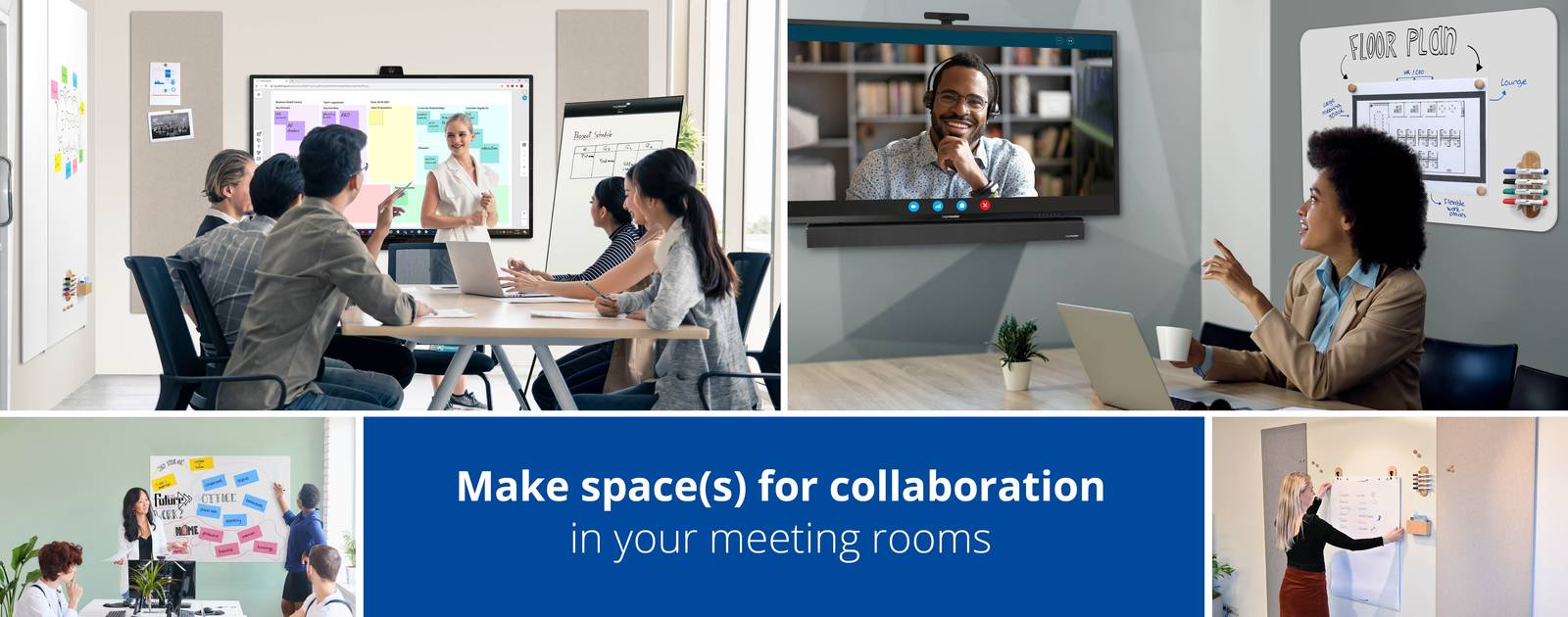 Make space(s) for collaboration