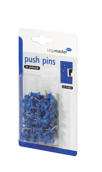 Legamaster push-pin blue 50pcs - 001