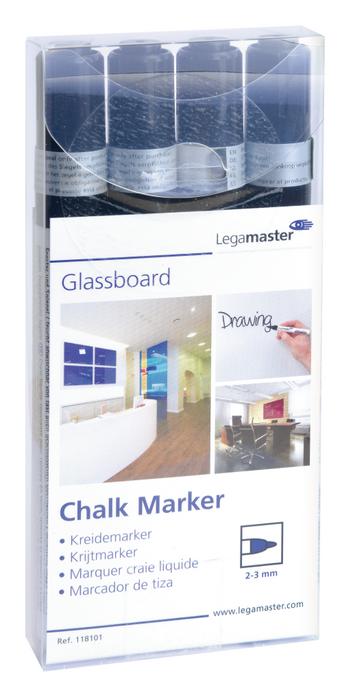 Legamaster marcador de tiza negro - 001