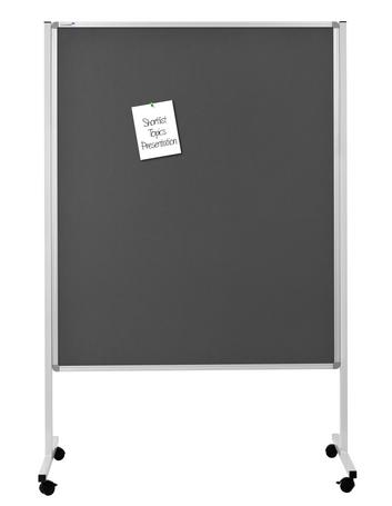 Legamaster mobiel multibord xl grijs prikbord - 001