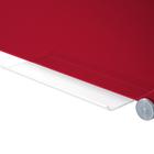 Legamaster tablero de vidrio 90x120cm rojo  - 003