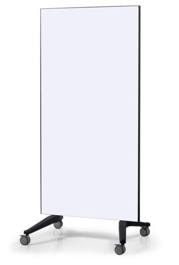 Legamaster mobile glassboard 90x175cm white - 001